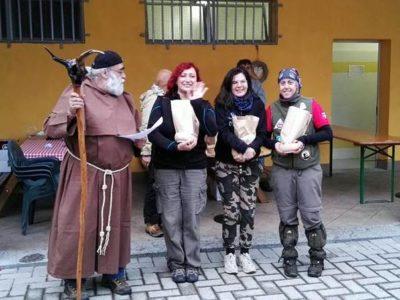 Premiazione Cacciatrici Femminile Ricurvo