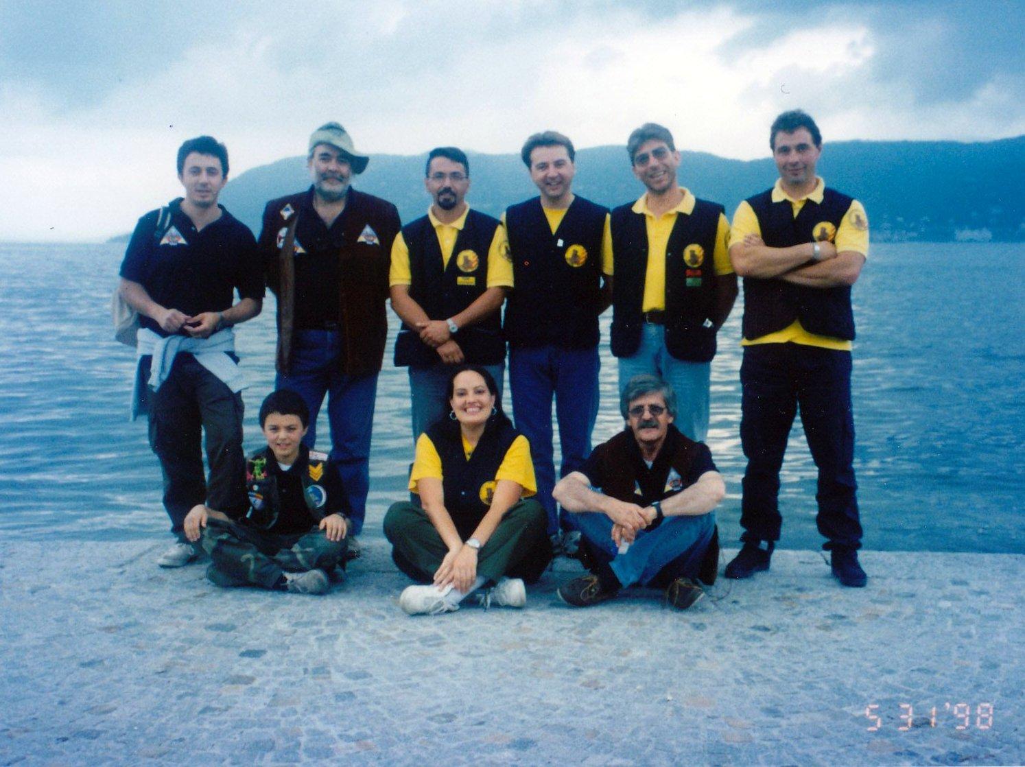 La squadra 03TORR durante un nostro evento a Pallanza