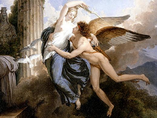 Jean Pierre Saint-Ours, Cupido salva Psiche dagli Inferi
