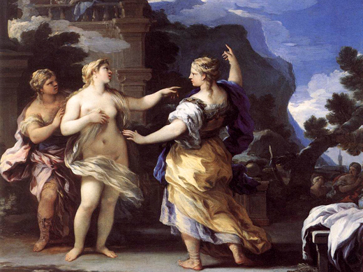 Luca Giordano, Venere punisce Psyche