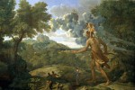 Orione cieco cerca il sole (Nicolas Poussin 1658, MOMA New York)