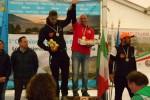 Il podio del Ricurvo Maschile.
