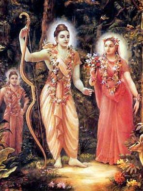 Rama e Sita.